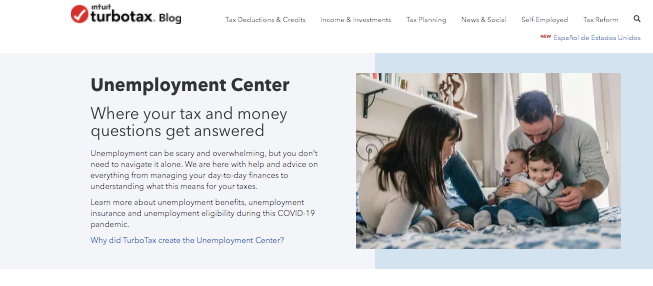 TurboTax lanza el Centro de desempleo de TurboTax