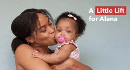 #LittleLifts: una pequeña alegría para Alana