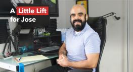 #LittleLifts: una pequeña alegría para José