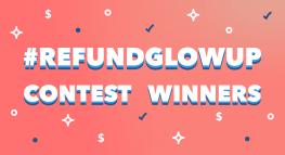 ¡Celebra la temporada de reembolsos de impuestos con los ganadores del concurso #RefundGlowUp!