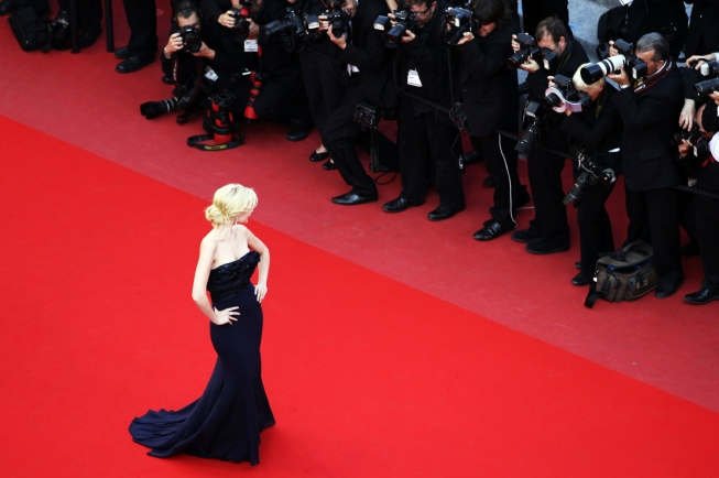 """CANNES, FRANCE - MAY 17:  Actress Helena Mattsson attends """"Biutiful"""" Premiere at the Palais des Festivals during the 63rd Annual Cannes Film Festival on May 17, 2010 in Cannes, France.  (Photo by Andreas Rentz/Getty Images)"""