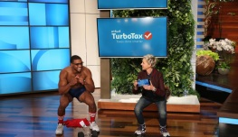 "TurboTax Visits the ""The Ellen DeGeneres Show"" [Video]"