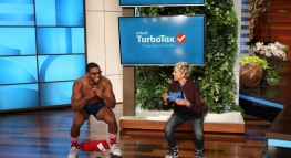 "TurboTax Visits the ""The Ellen DeGeneres Show"" [Video]"