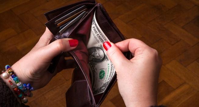 Last dollar in wallet
