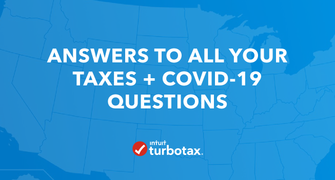 Answers to all Your Taxes COVID-19 Questions