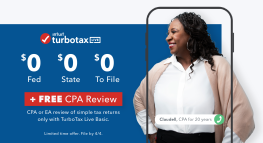 Another Way to File FREE, Now with Tax Expert Review
