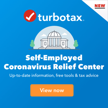 TurboTax Self-Employed Coronavirus Relief Center