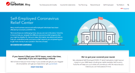 TurboTax Launches Self-Employed Coronavirus Relief Center