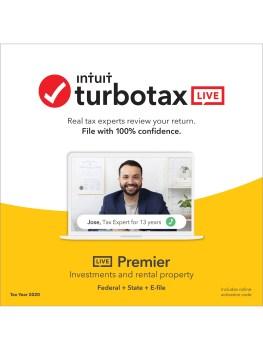TurboTax Live Premier