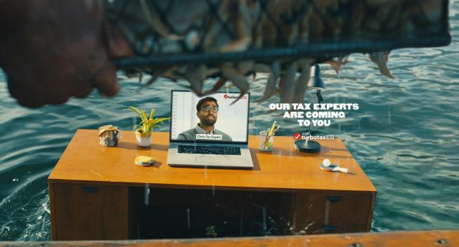 "TurboTax Live brand campaign brings experts ""Straight To You"""