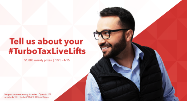 TurboTaxLiveLifts sweeps
