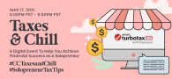 Taxes and Chill: A Digital Event To Help You Achieve Financial Success as a Solopreneur
