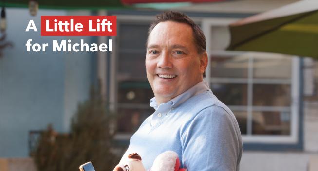 Little Lift recipient Michael