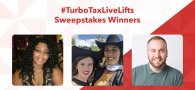 #TurboTaxLiveLifts Sweepstakes Winners Announcement