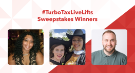 #TurboTaxLiveLifts Sweepstakes Winners