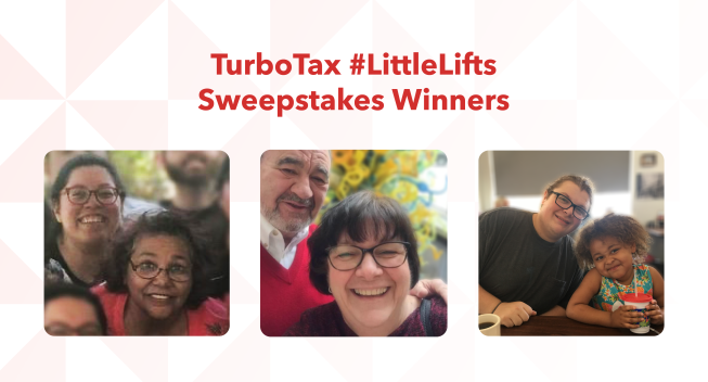 #LittleLifts Sweepstakes Winners Announcement