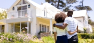 couple buying a home